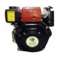 MOTOR DIESEL 3600 RPM 4,7 HP CIGÜENAL CONICO CORTO 19-23 MM INTERCAMBIABLE LAMBORDINI